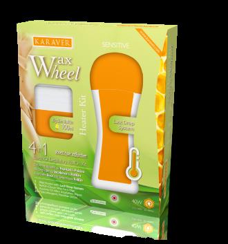 Wax Wheel Kit KARAVER Roll On Heater depilation
